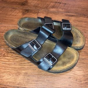 Black Birkenstock Sandal Women's Slip On Size 42
